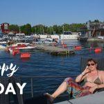 Båttur, radio och nationaldag