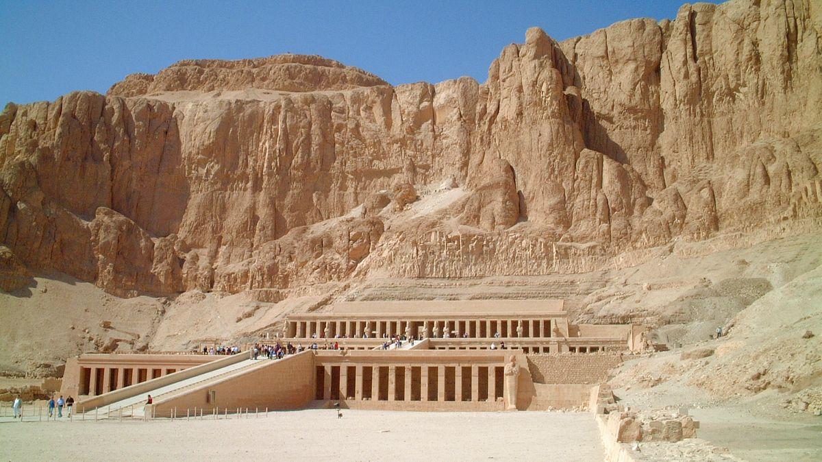Resa till Egypten - Hatshepsuts tempel