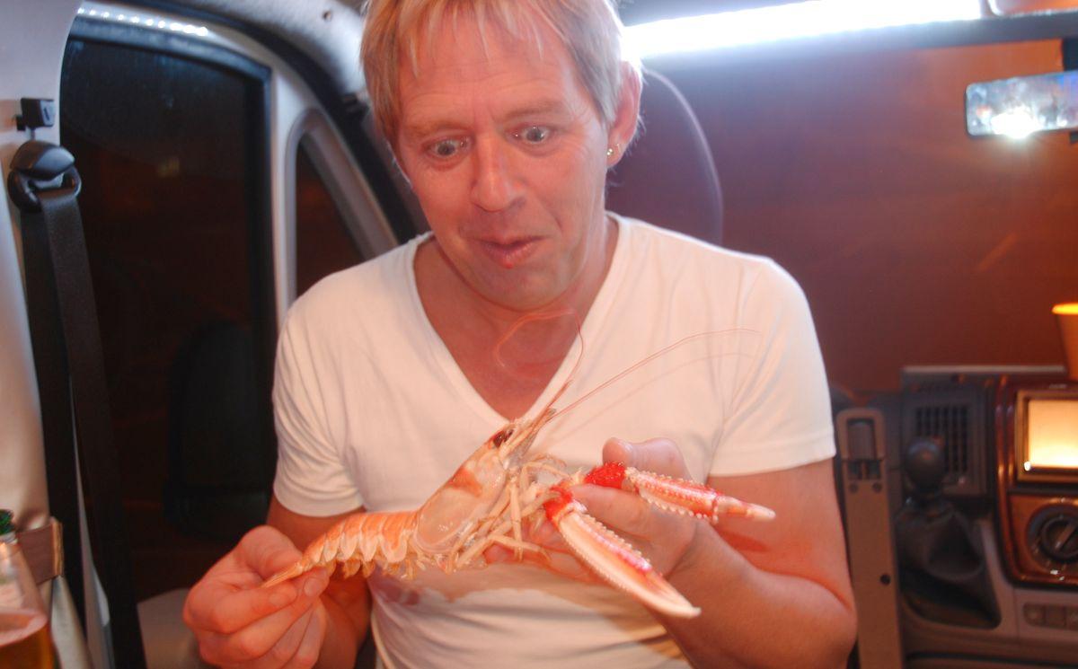 Havskräftor och andra skaldjur i Smögen