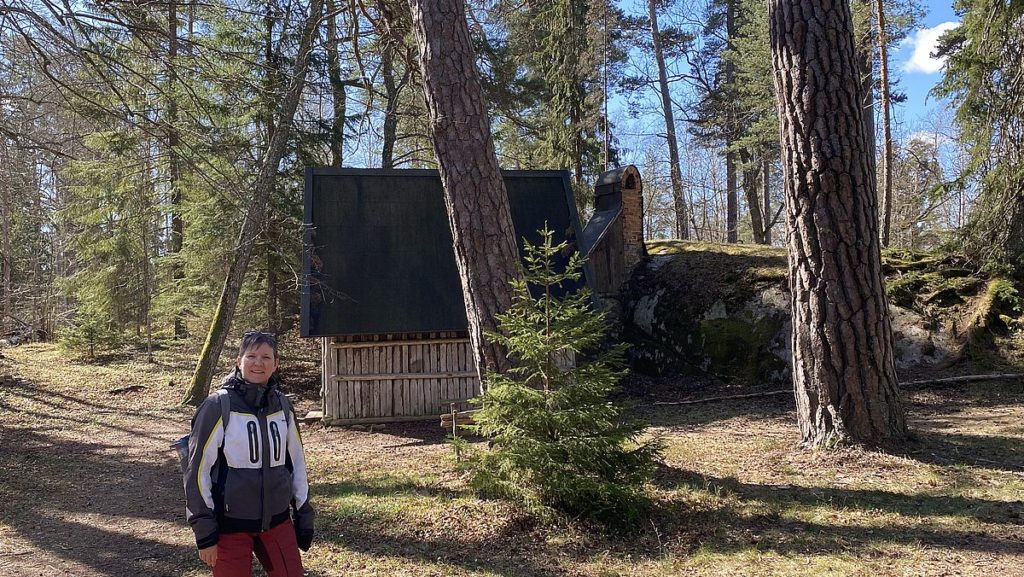 Helena i Engelska parken vid Rydboholms slott