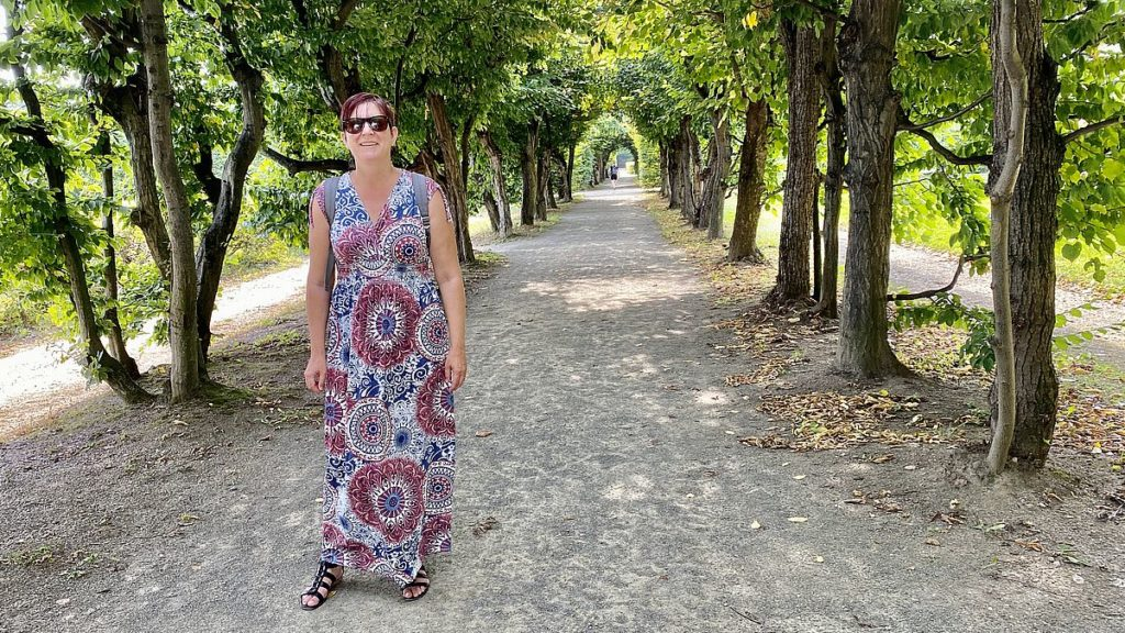 Helena i Kroměříž trädgårdar