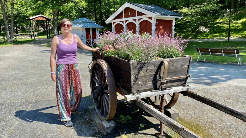 Helena i Wämöparken i Karlskrona