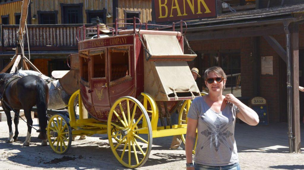 Helena i västern-staden El Dorado