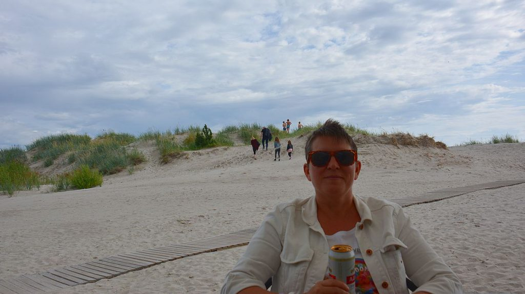 strandbar i Pärnu i Estland