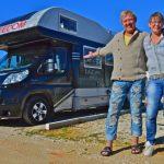 Tidningsartikel om vår husbilsresa i Europa