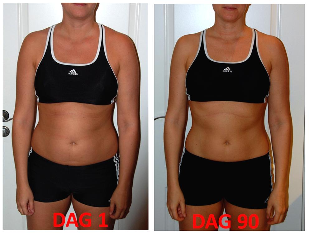 träningsresultat 1 månad