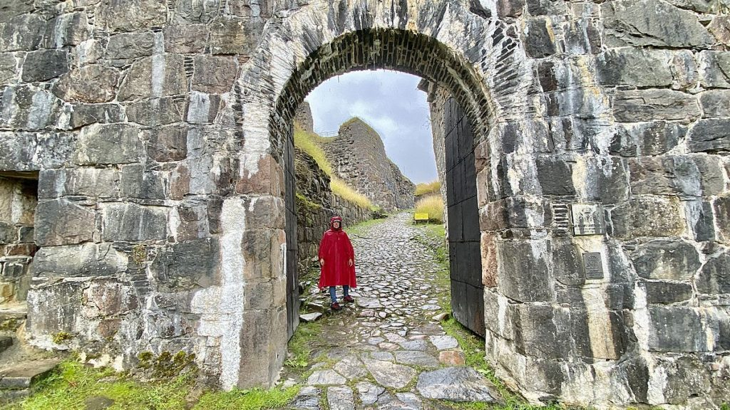 Att besöka Bohus fästning