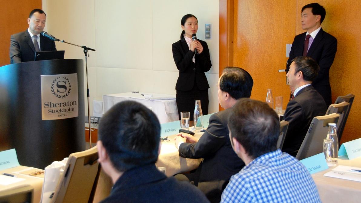 Presentation av Henan