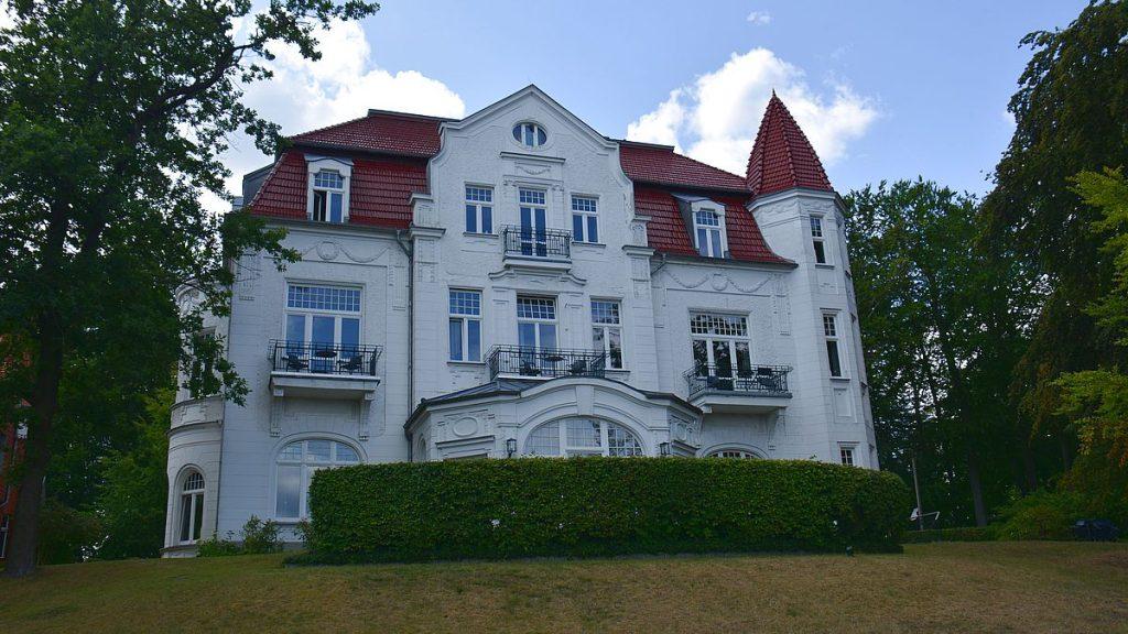 Herensdorf på ön Usedom i Tyskland