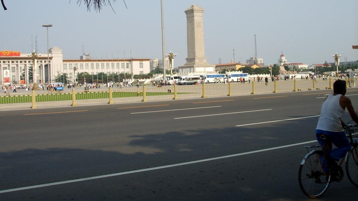 Sevärdheter i Beijing - Himmelska fridens torg