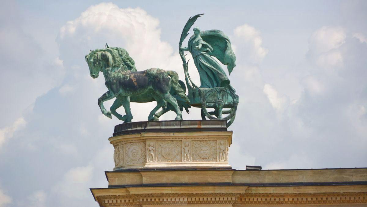 Hjältarnas torg Budapest