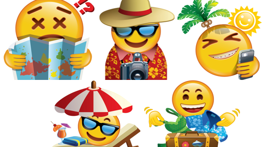 Holiday emojis