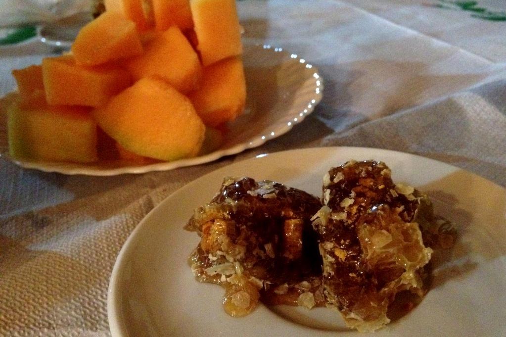 Melon och honung