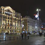 Warszawa och hotell Polonia Palace