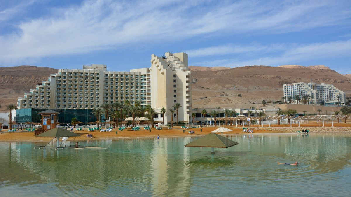 döda havet hotell