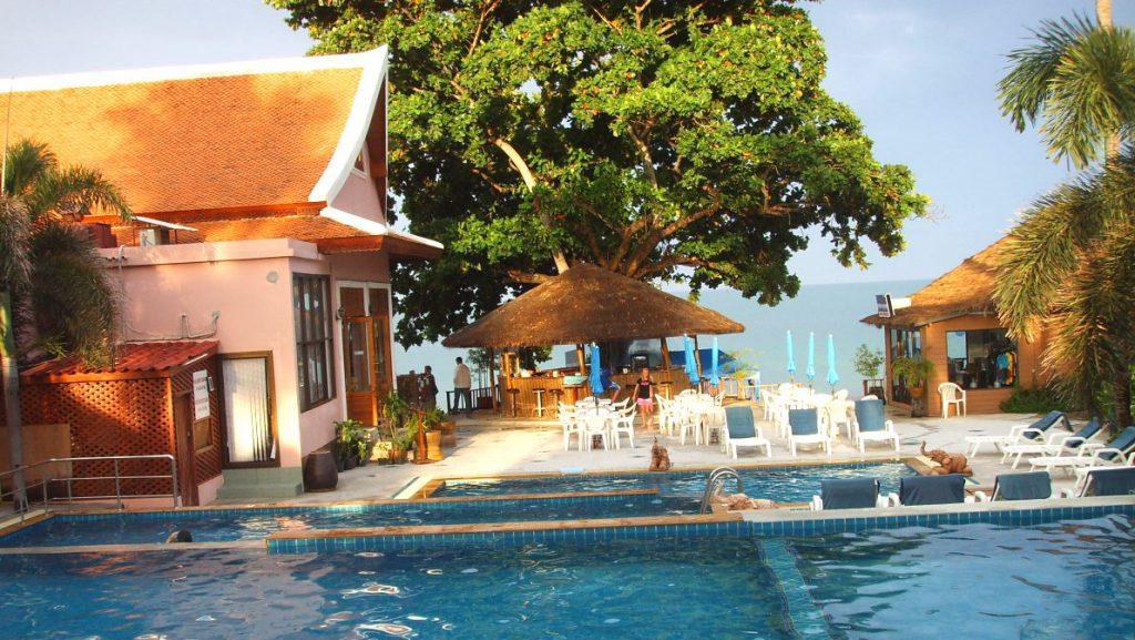 Vårt hotell i Thailand blev mycket billigare när vi bokade det själva