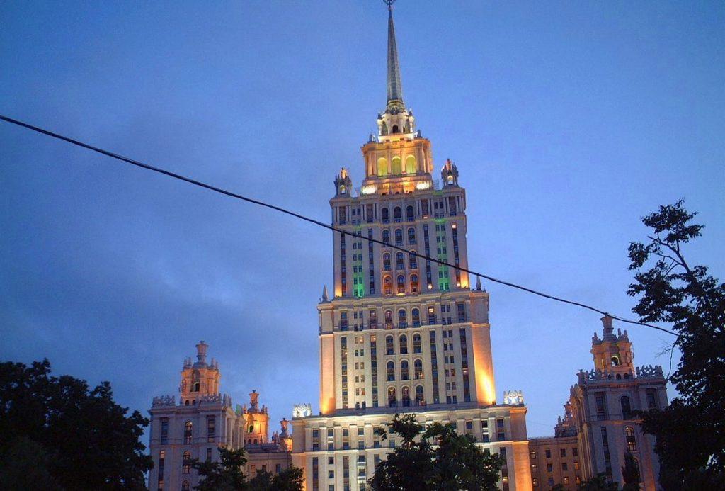 Moskva, en av Europas största städer