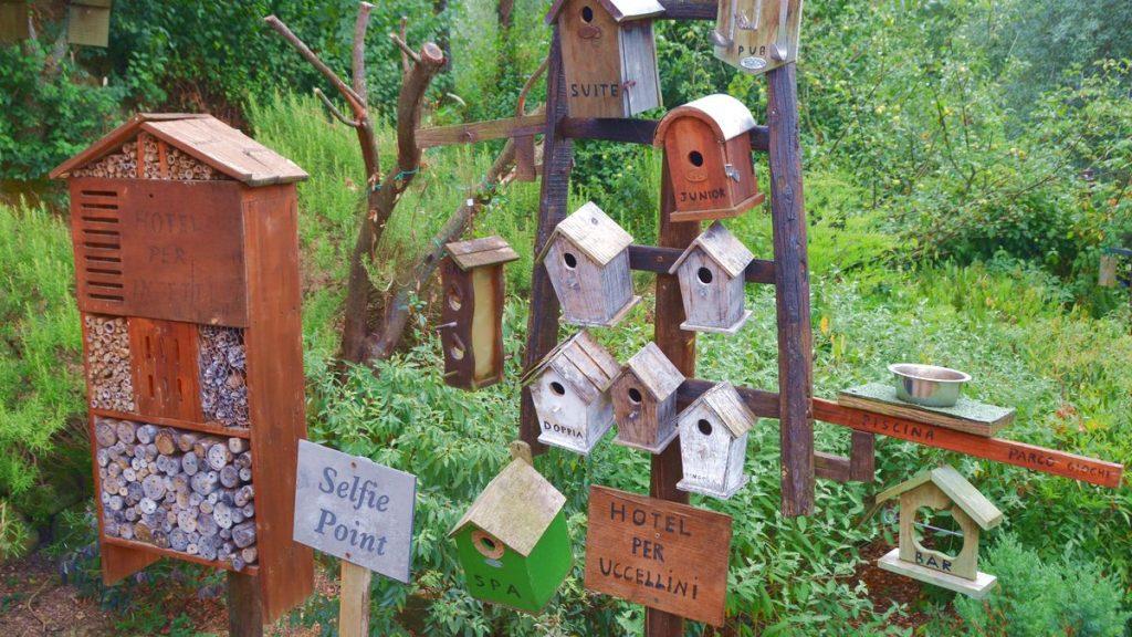 Hotell för insekter och fåglar