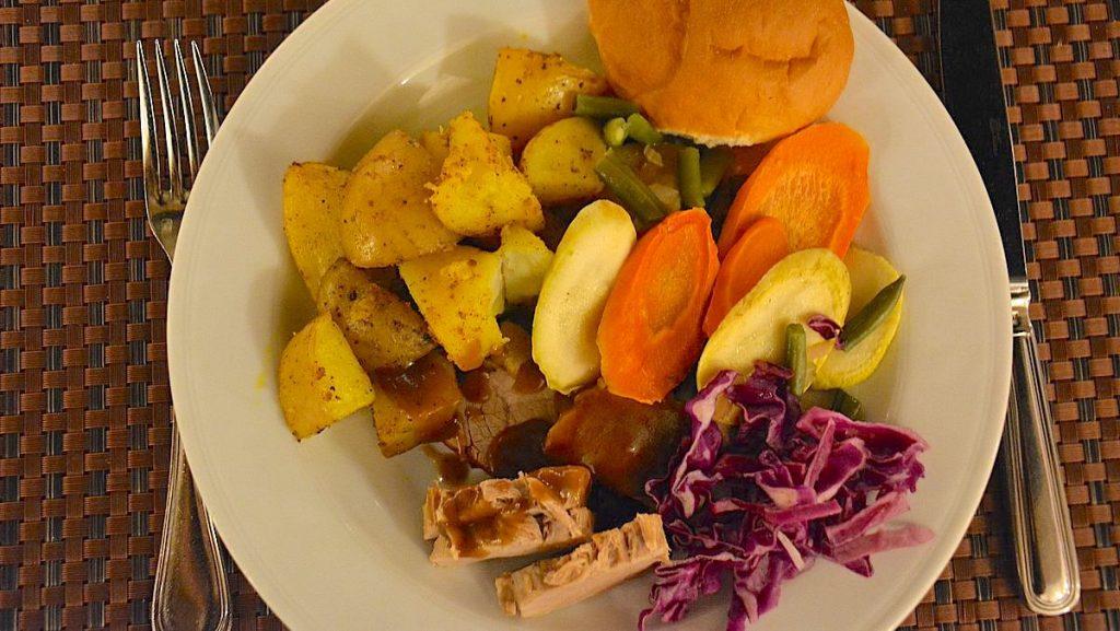 Mat i Egypten - hotellbuffé