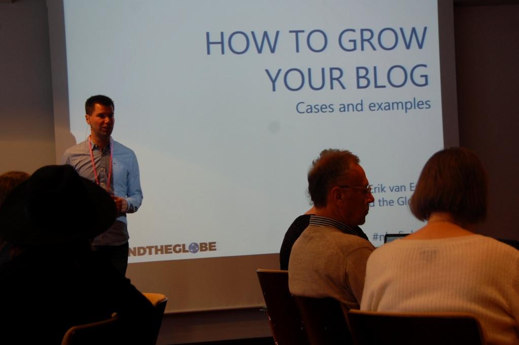 "Bli en bättre resebloggare: Erik berättar om ""How to grow your blog"""