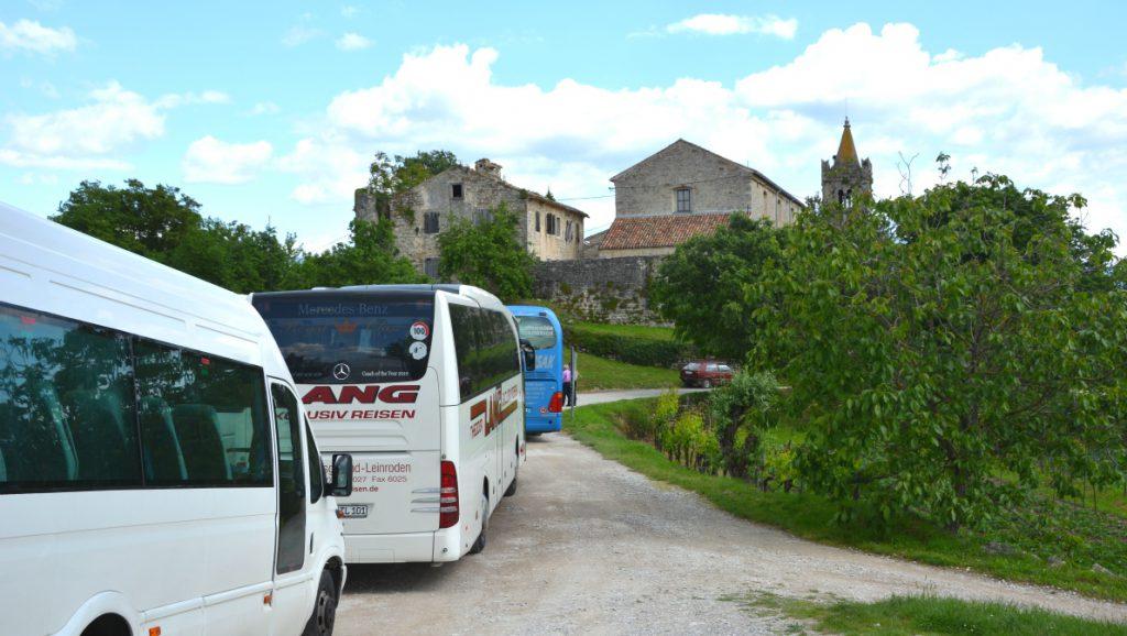 Världens minsta stad - Hum i Kroatien