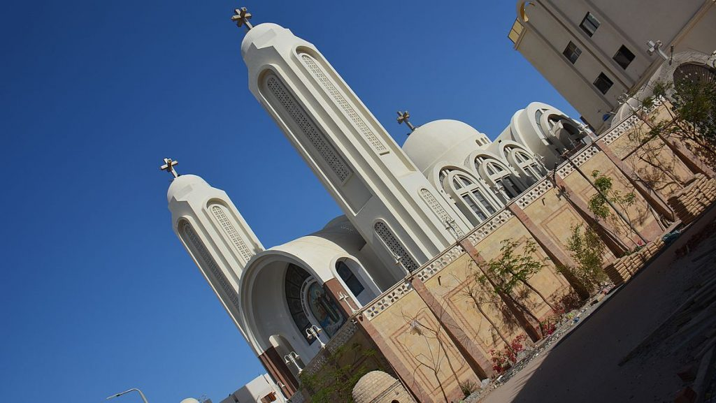 Koptiska katedralen Shanouda
