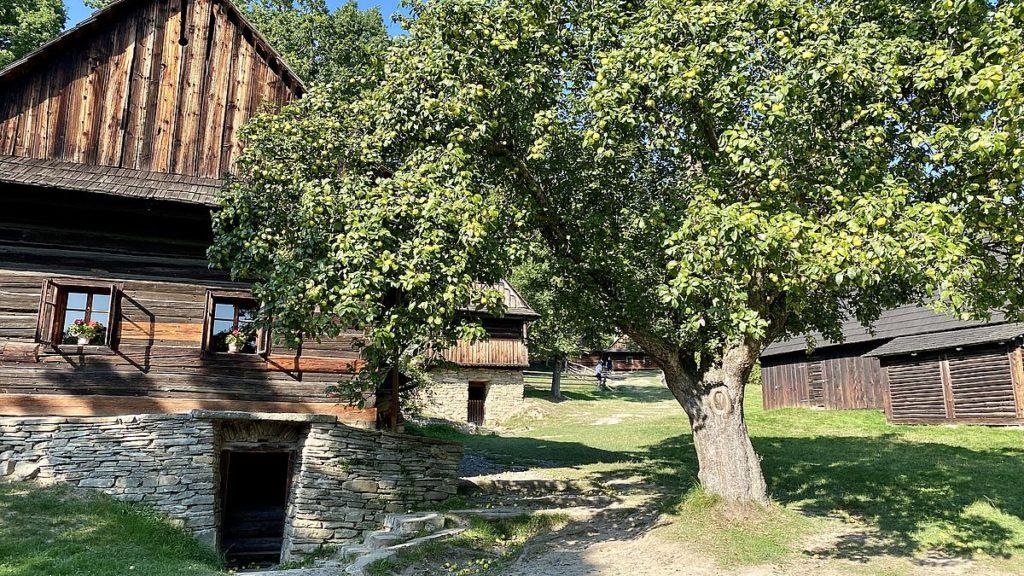 Wallachian Open Air museum - friluftsmuseum i Tjeckien