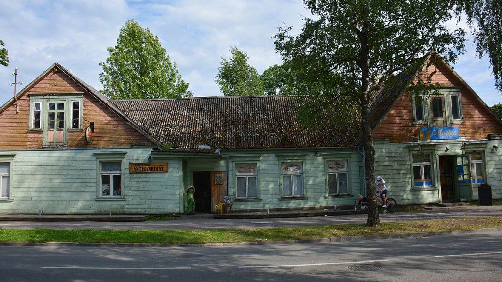 Hus i Pärnu i Estland