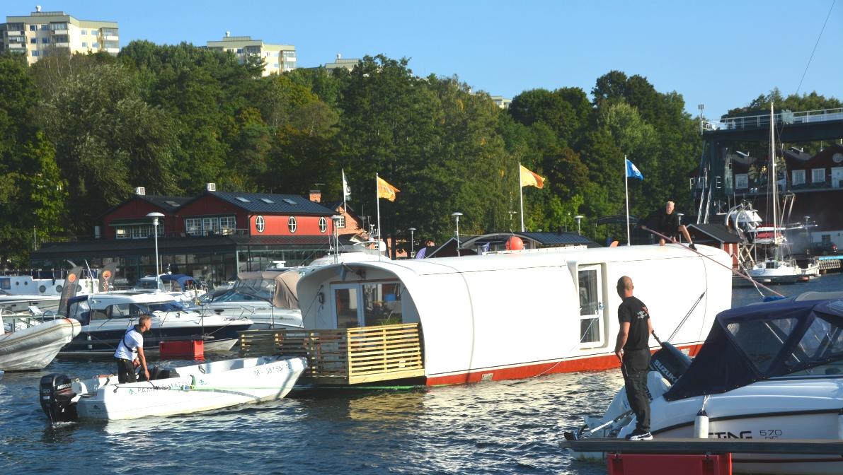 Livet på en husbåt