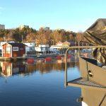 Stabilitetstest av husbåt