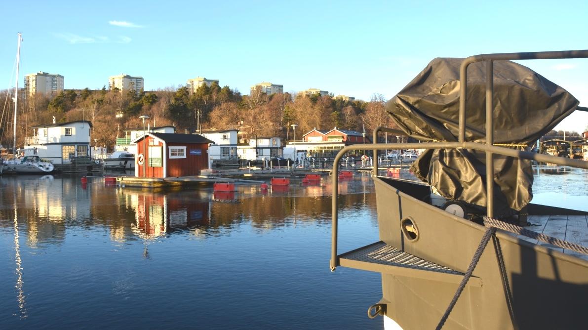 Husbåt - ett annorlunda boende