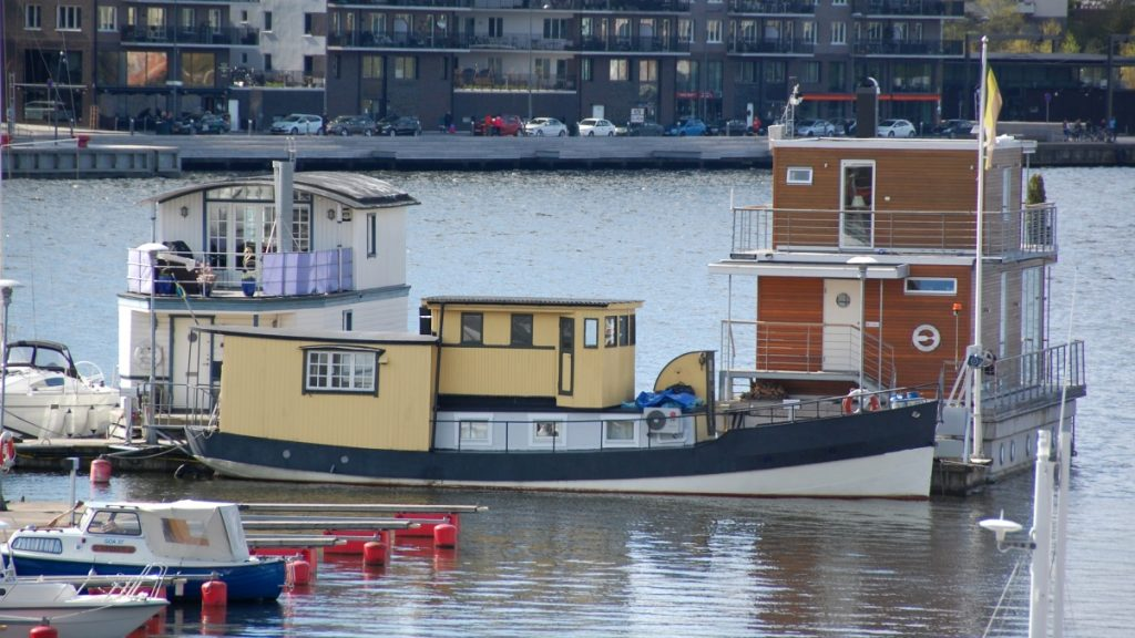 Husbåt Pampas marina