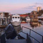 hemma i husbåten – efter stormen Alfrida