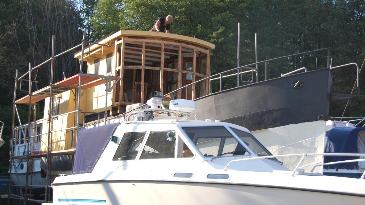 Husbåt renovering