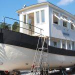 Stabilitetstest av båt