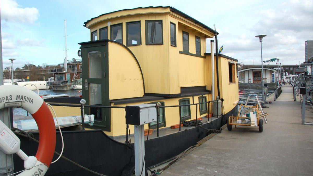 Husbåtsrenovering