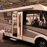 Lyxiga husbilar i 360 på Caravan Stockholm