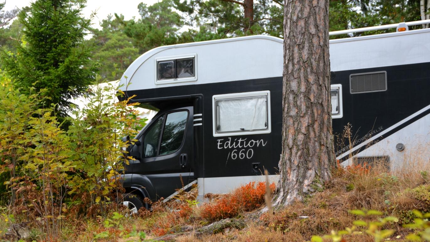 Campingliv på Island Sofies värld