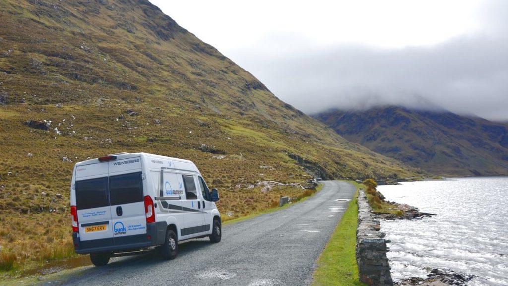 Resa med husbil på Irland