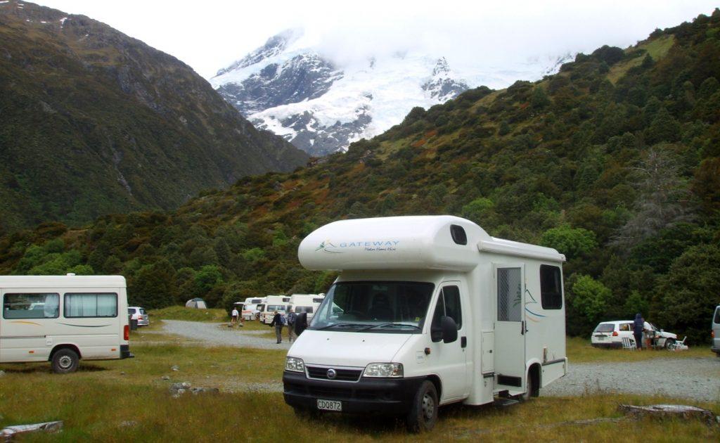 Hyra husbil på Nya Zeeland