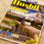 Husbil & Husvagn skriver om vår resa