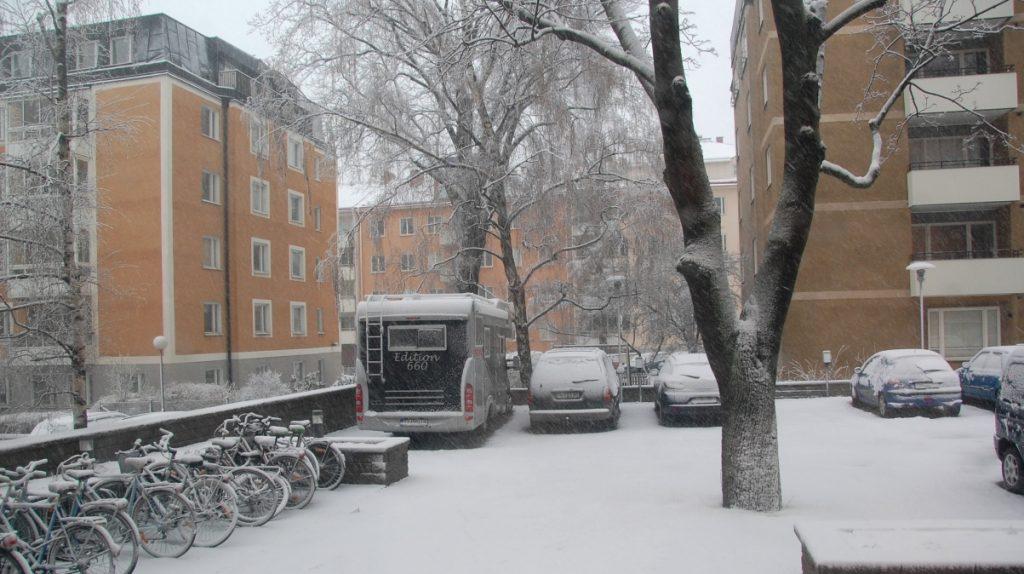 Vinterförvara husbilen