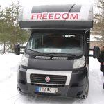 Husbilen avställd för vintern