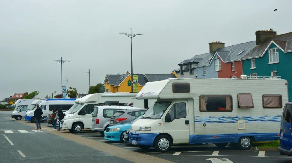 Husbilar på Irland