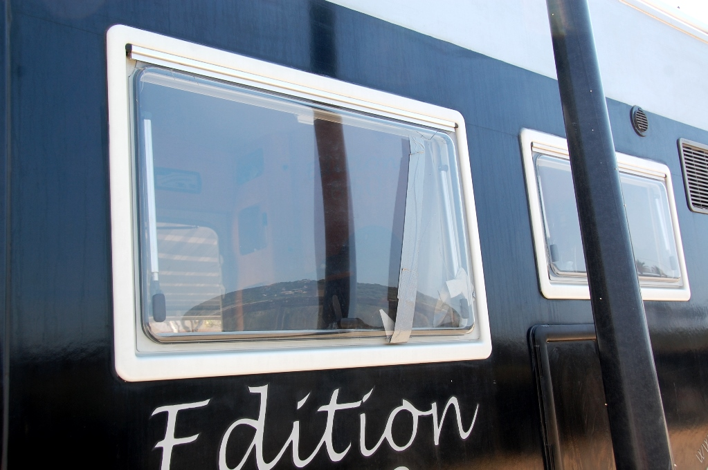 Husbilen fönster