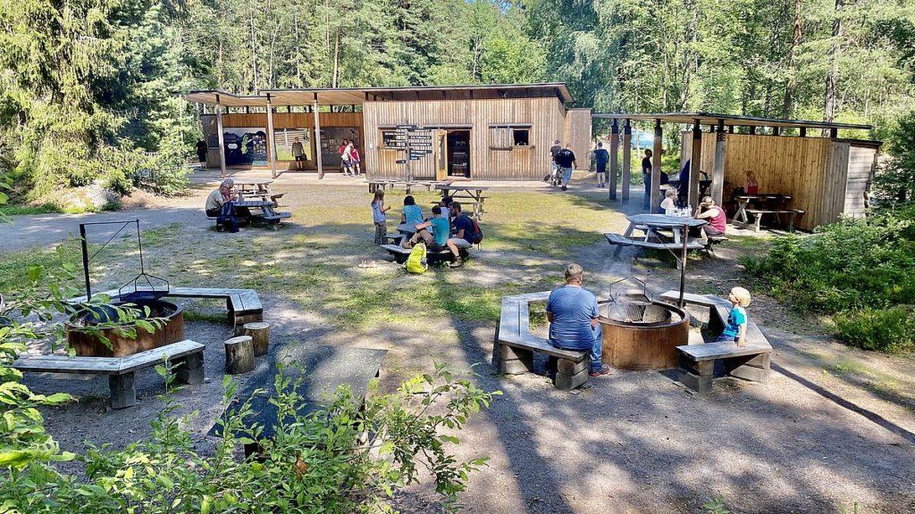Tivedens nationalpark - huvudentré