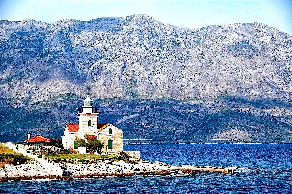 Ön Hvar i Kroatien