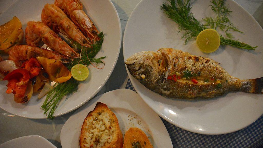 Hydra Seafood restaurang i El Gouna