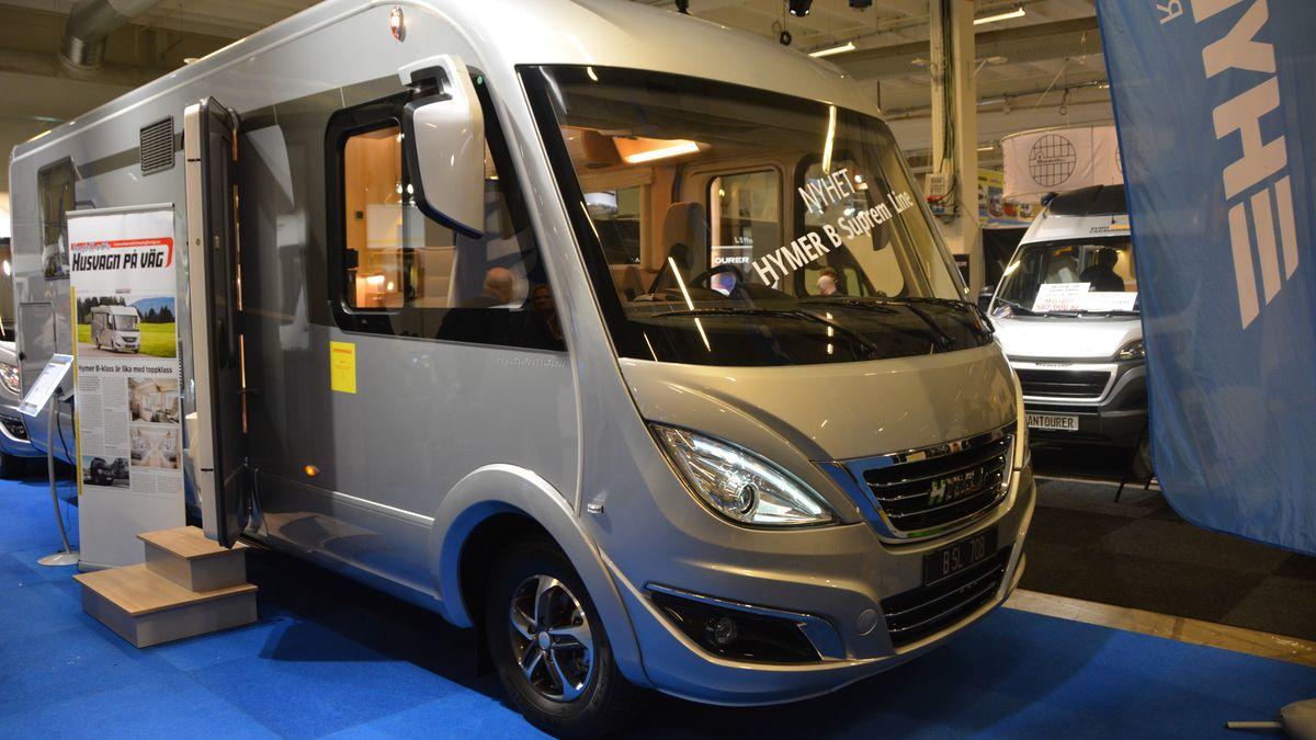 Nya husbilar på Carvan Stockholm