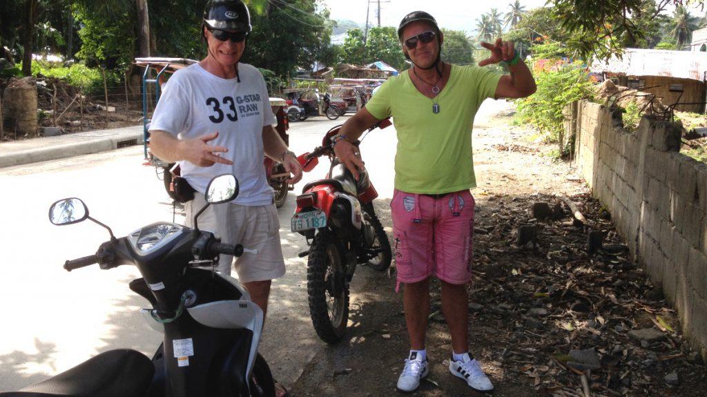Moppetur på Filippinerna